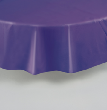 "Purple Round Tablecover 84""/ 213cm Diameter"